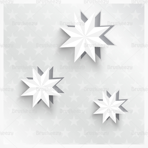 3D Holiday Star PSD Pack