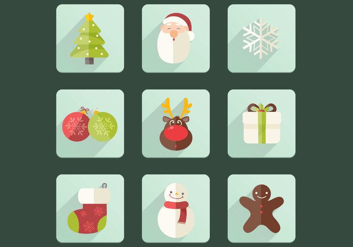 Christmas Icon PSD Set