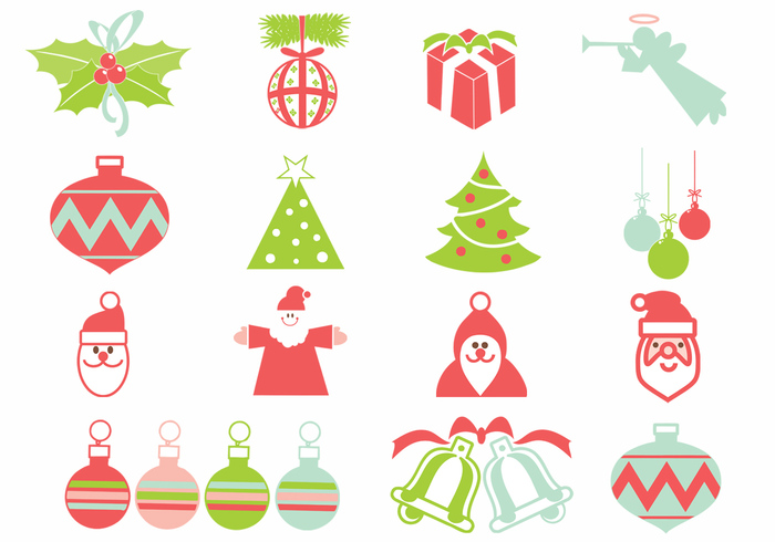 Christmas Brush Elements Pack