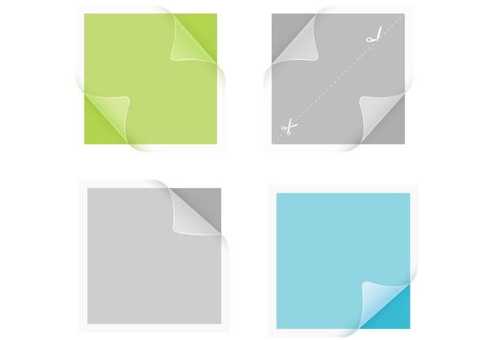 Transparent Sticker PSD Pack