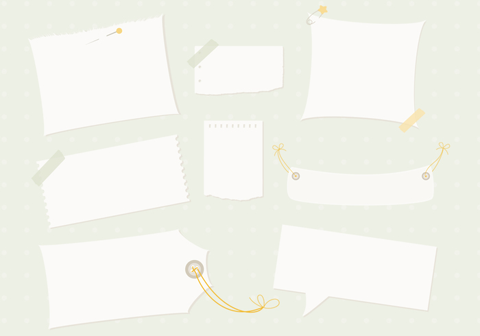 Note Paper PSD Pack