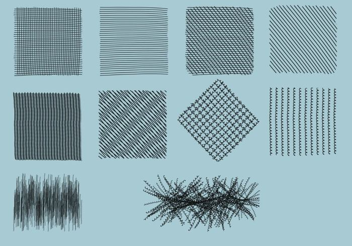 Crosshatch Brushes Pack