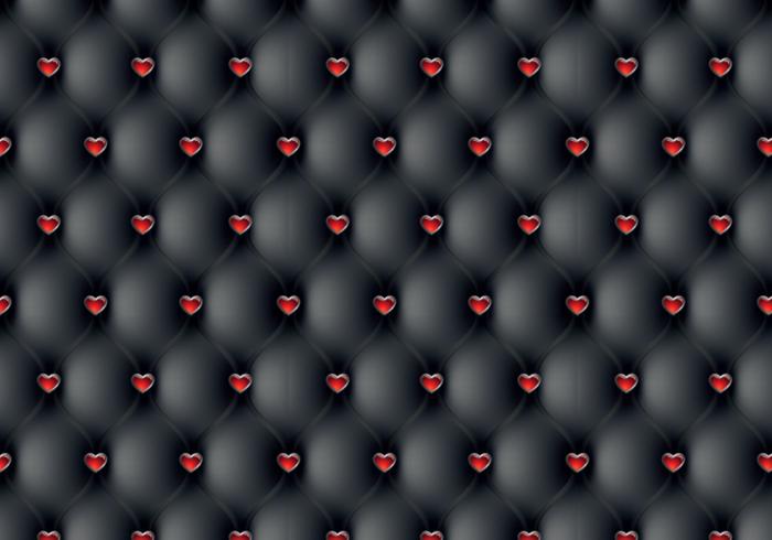 Leather Heart Pattern