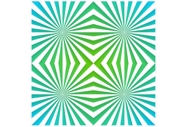 Smaragd zonnestraal psd behang pak