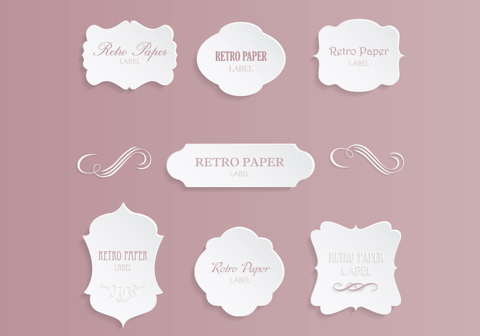 Vintage Label PSD Pack - Free Photoshop Brushes at Brusheezy!