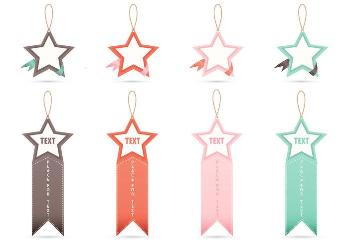 Star Tag Banner PSDs