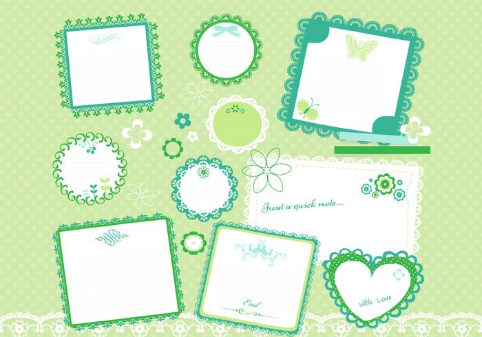 Cute Scrapbook PSD Pack