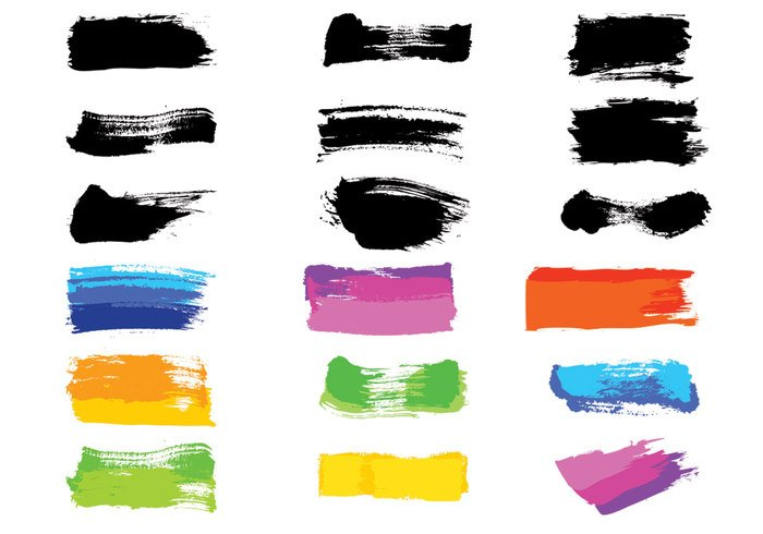Paintbrush Stroke Brushes