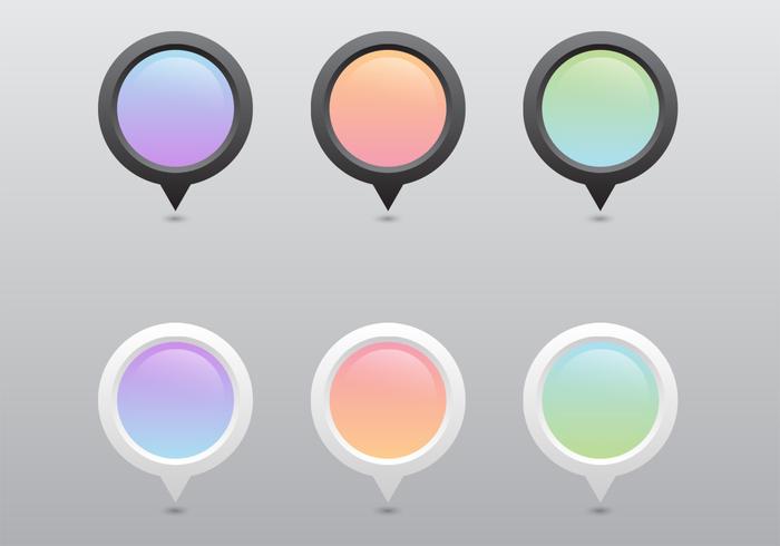 Pastel Pointer PSD Set