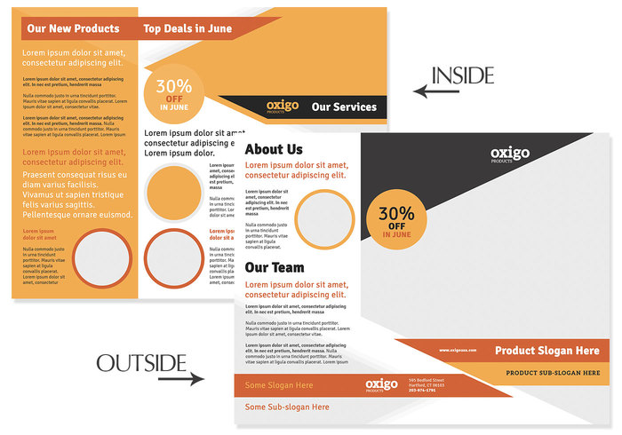 Trifold Brochure PSD Template Free Photoshop Brushes At Brusheezy - Brochure photoshop template