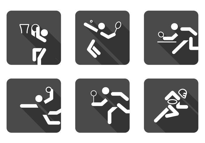 Ball Sports Icon PSD Set