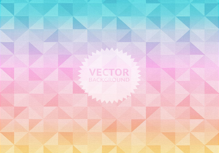 Pastel Geometric Background PSD