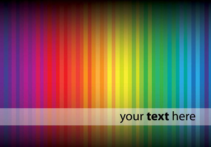 Rainbow Background PSD