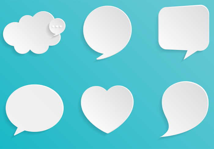 Chalk Drawn Speech Bubble and Doodle Brush and PSD Pack - Free ...