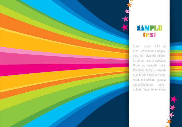Abstract Rainbow Background PSD