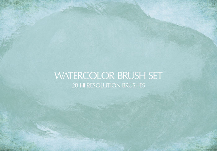 Watercolor Brushes Pack