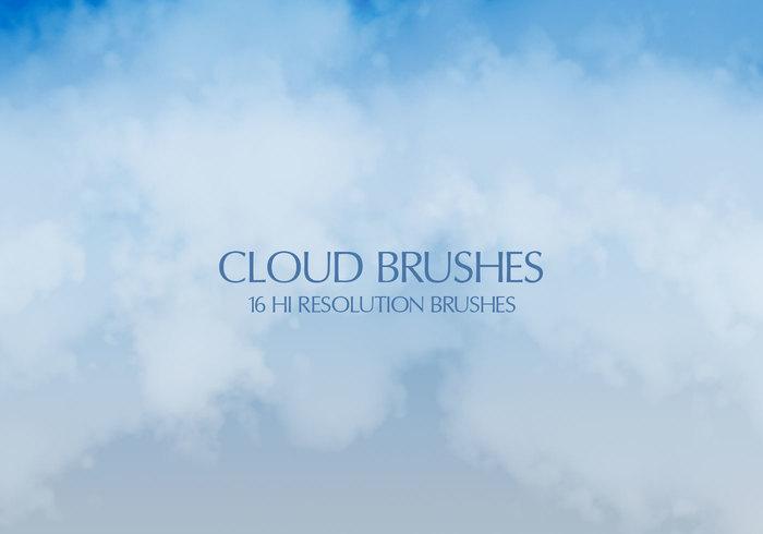 16 Brosses de nuages