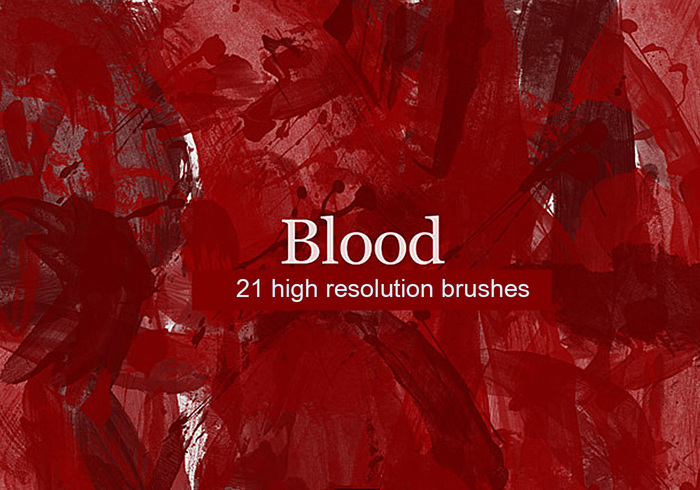 Blood Brushes Pack