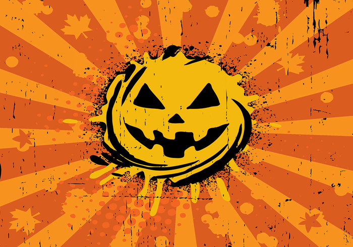 Halloween Background PSD