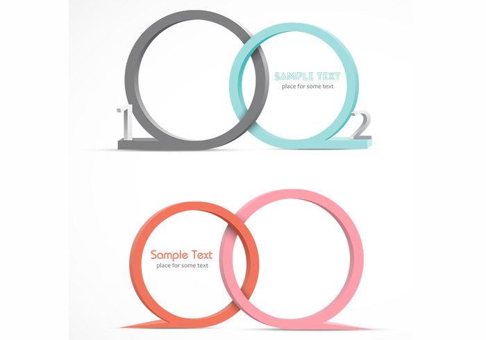 3D Speech Bubble PSD