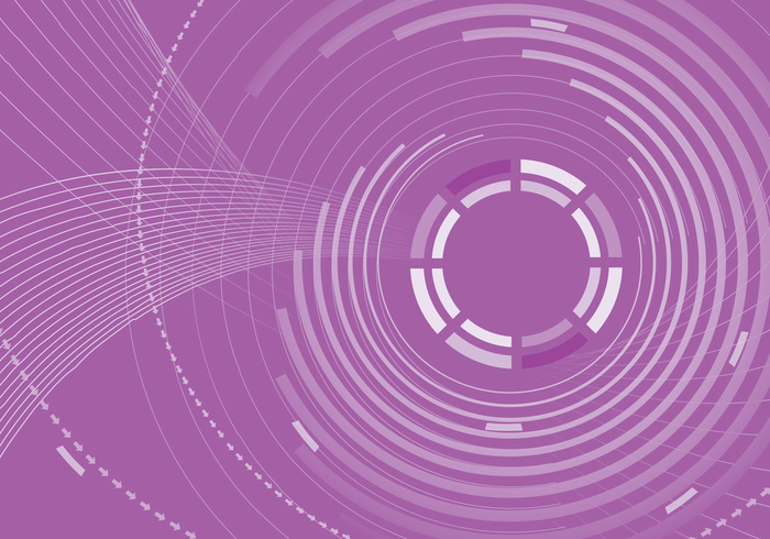 Purple Abstract Circle Background PSD