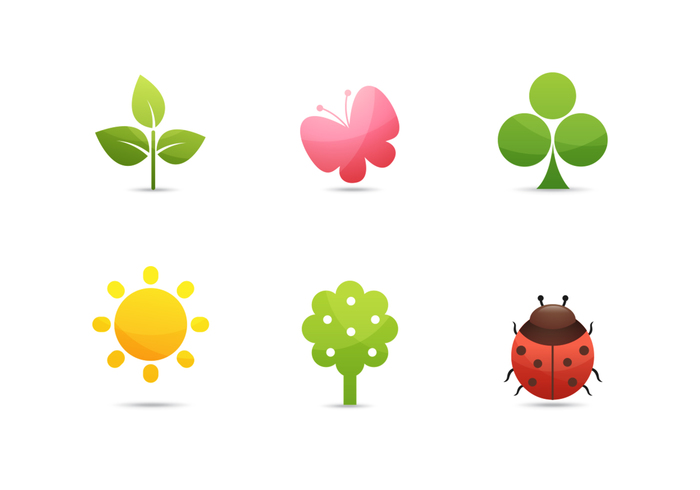Nature Icons PSD Collection