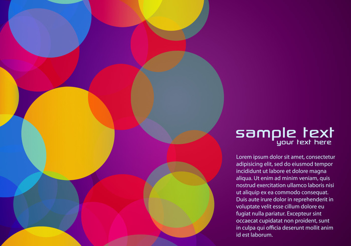 Purple Colorful Background PSD