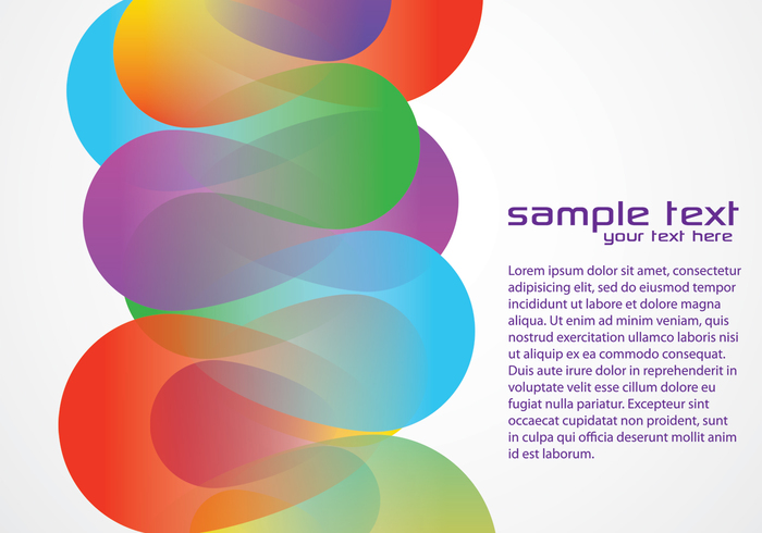 Colorful Funky Background Two PSD