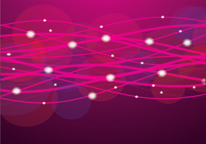 Pink Glowing Lines PSD Background