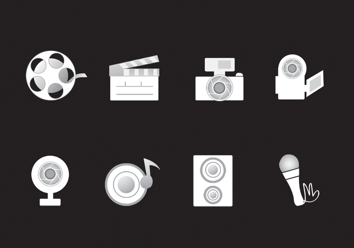 Media Icons PSD Pack