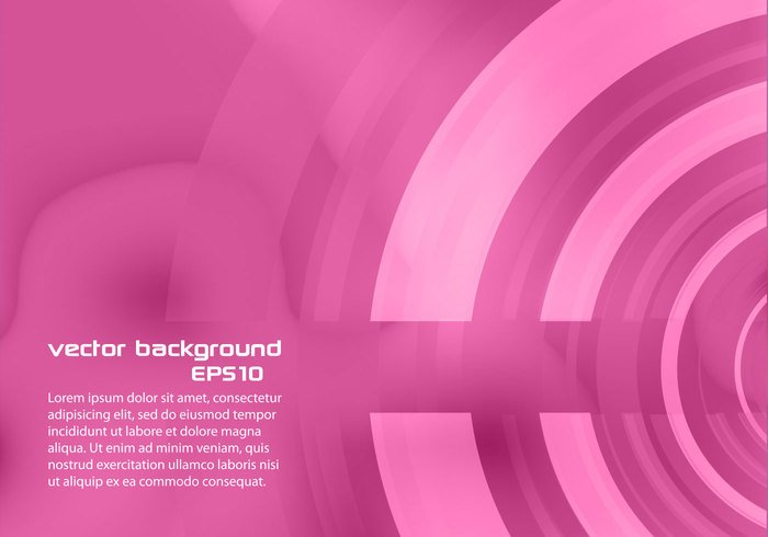 Pink Abstract Circle Background PSD