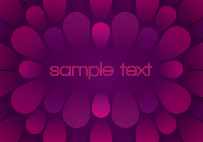 Abstract Bubble Burst Background PSD