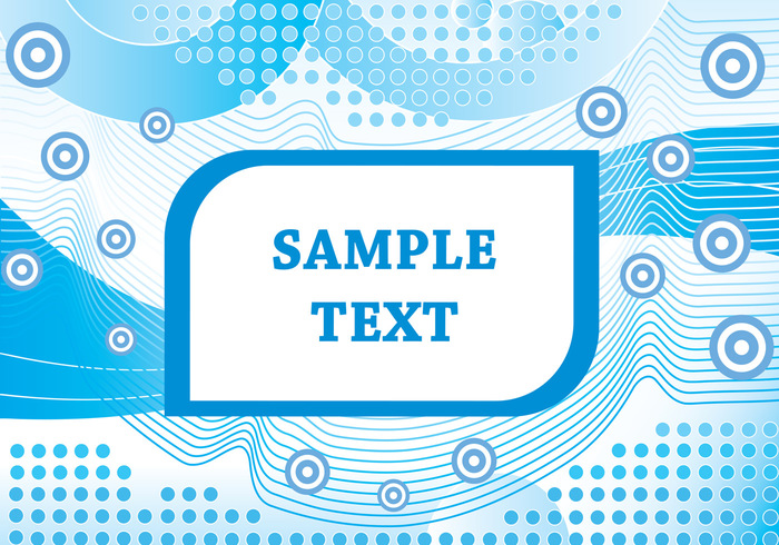 Blue Abstract Shape PSD Background