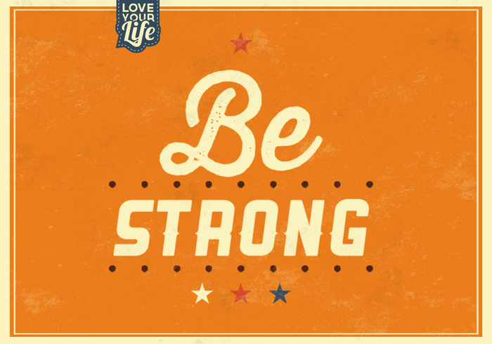 Be Strong PSD Background