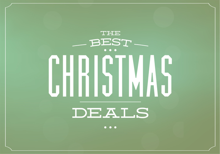 Christmas Deals PSD Background