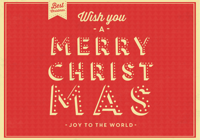 Joy to the World Christmas PSD Background