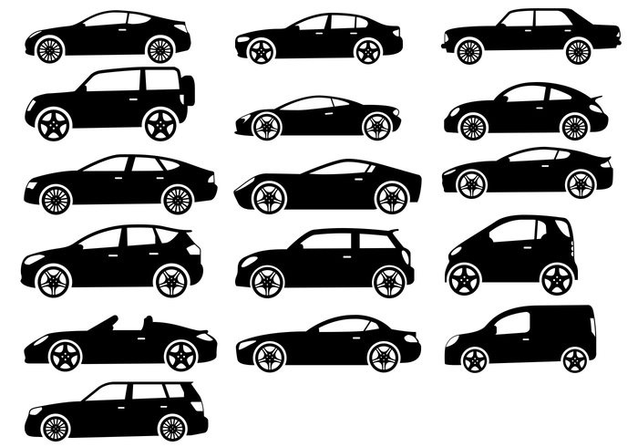 16 Cars Brushes and PSD Set