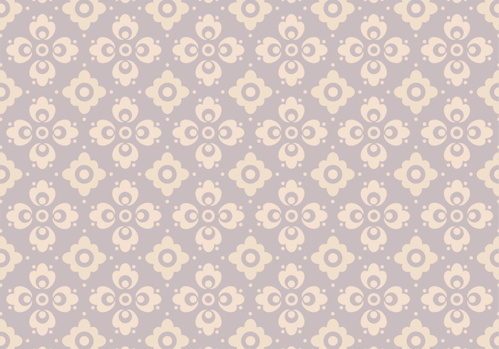 Lavender Floral Photoshop Pattern