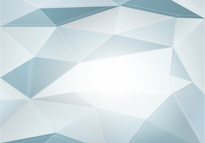 Gray Abstract Polygonal PSD Background