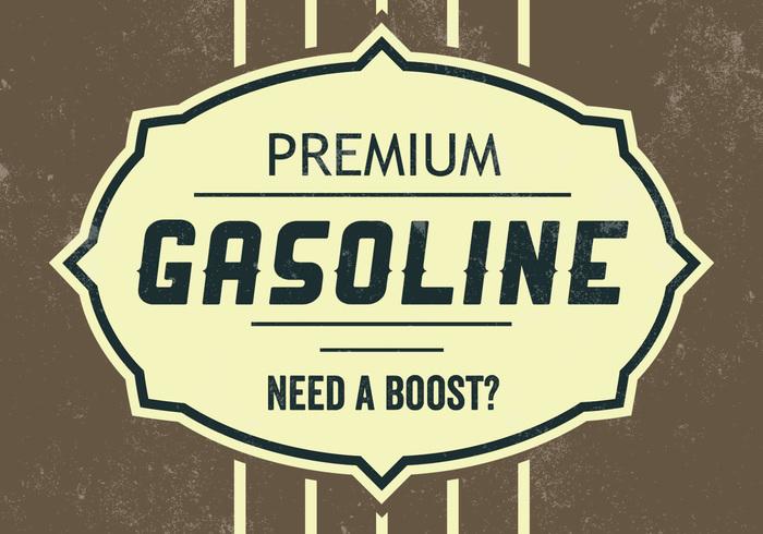 Premium Gasoline PSD Background