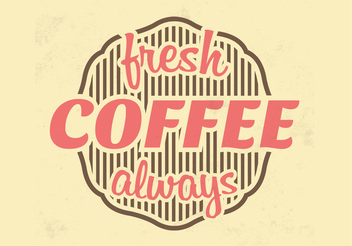 Fresh Coffee PSD Background