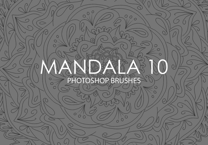 Free Mandala Photoshop Brushes 10