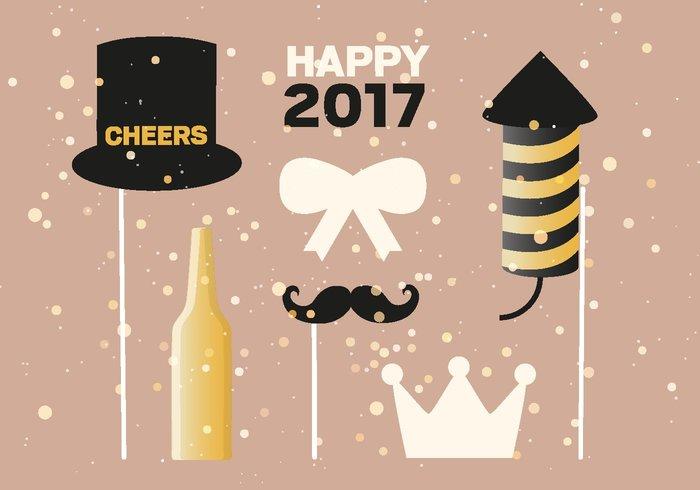 New Year Vector Illustration