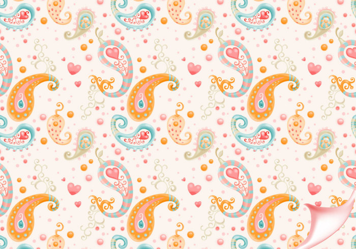 Paisley Pattern for Photoshop