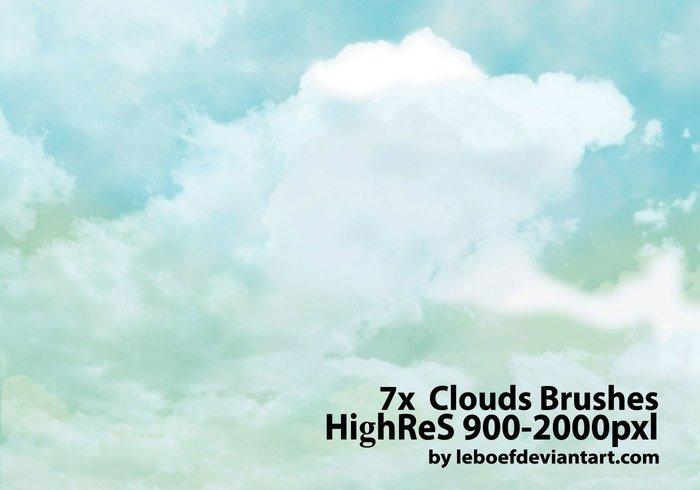 Cloud Photoshop Borstels