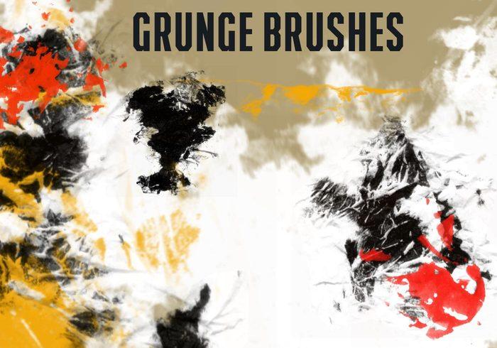 Cepillos de Grunge