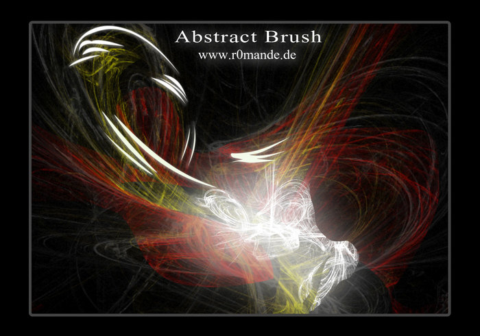 Abstrakt Brushset II