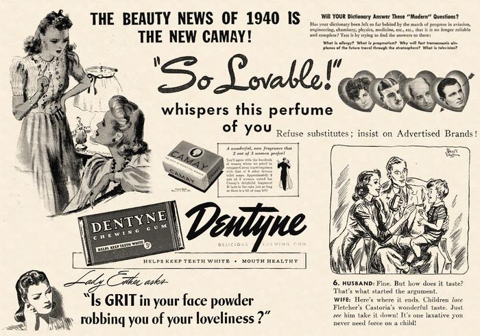 1940 escovas cosmopolitas