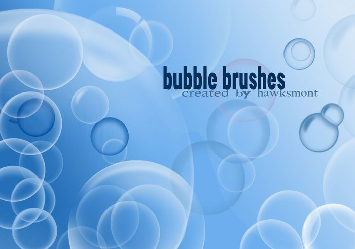 Bubble Borstels voor Photoshop
