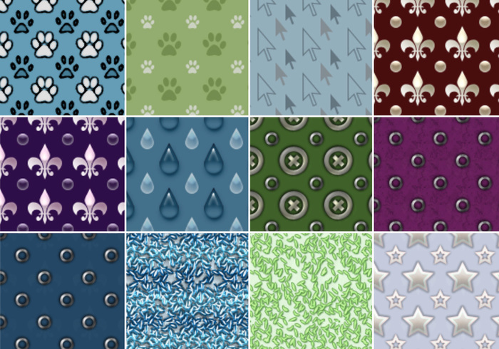 Patterns Photoshop - Pack 02